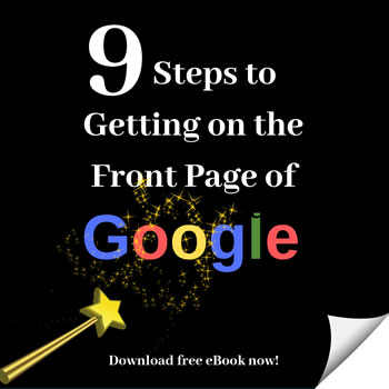 How to get on the front page of Google