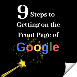 How to get your website to the front page of Google