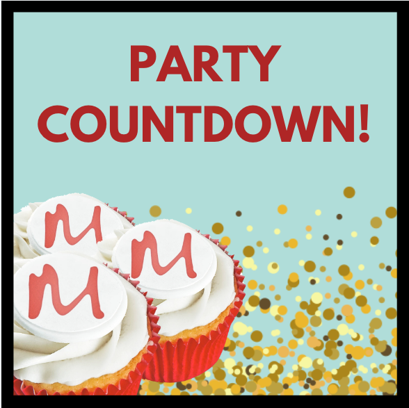 10th birthday party countdown