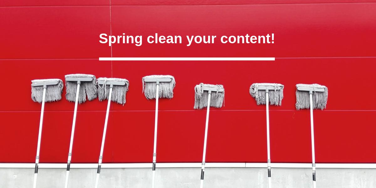 Content marketing audit and repurposing