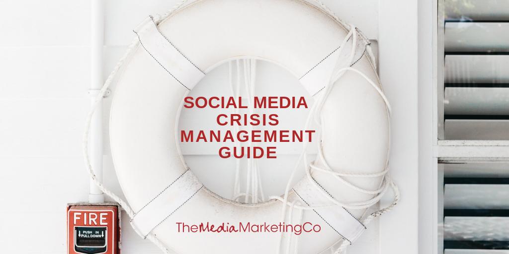 Social media crisis management guide