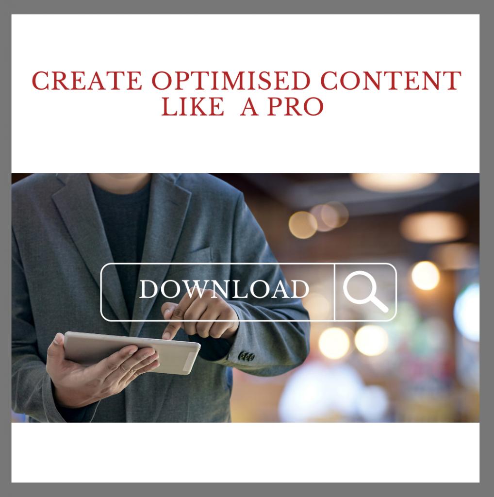 Create optimised content like a pro