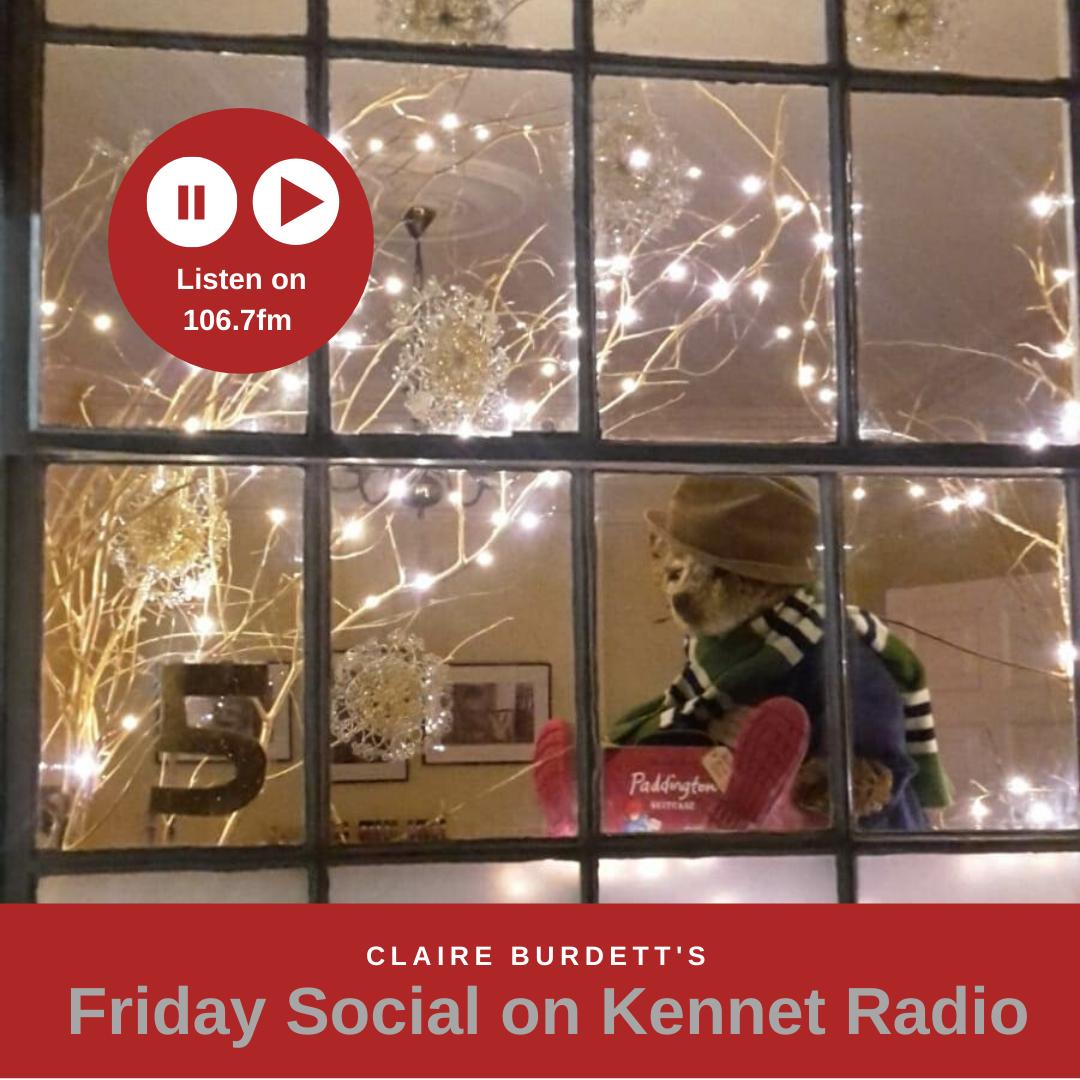 The Living Advent Calendar on Claire Burdett's Friday Social Advent radio show