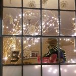 Paddington Bear window. Living Advent Calendar. Newbury 2018