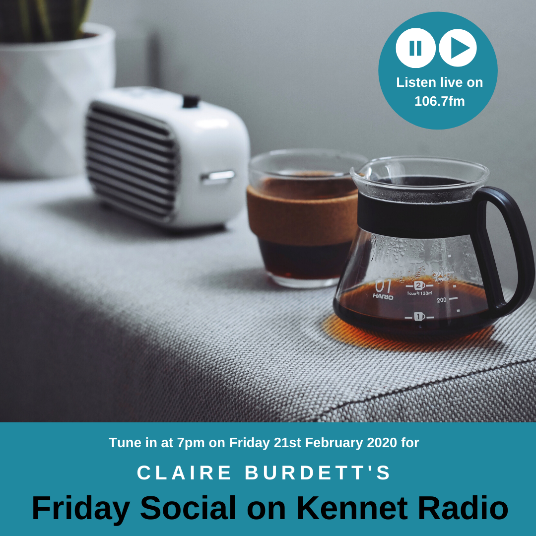 February Friday Social Radio Show on Kennet Radio - focus on Sustainability.