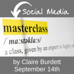 Social media masterclass by Claire Burdett for the voluntary sector in West Berkshire
